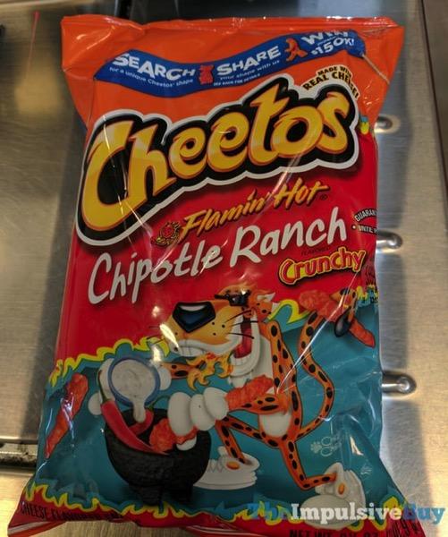 Cheetos Crunchy Flamin Hot Chipotle Ranch