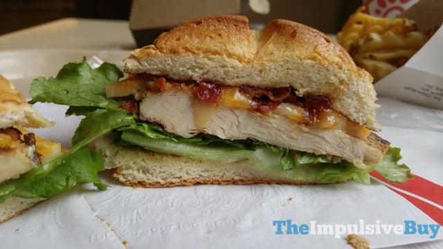 Chick fil A Smokehouse BBQ Bacon Sandwich 4