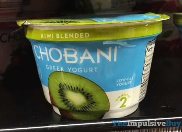 Chobani Limited Batch Kiwi Blended Greek Yogurt