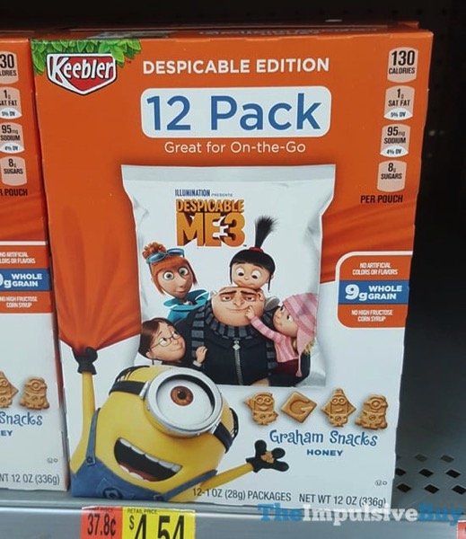Despicable Edition Keebler Graham Snacks