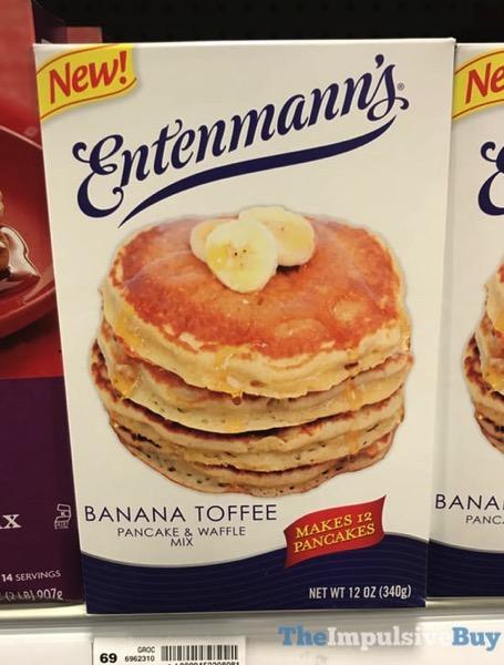 Entenmann s Banana Toffee Pancake  Waffle Mix