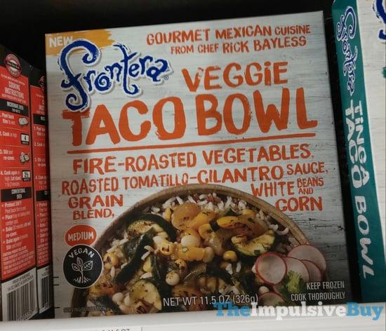 Frontera Veggie Taco Bowl