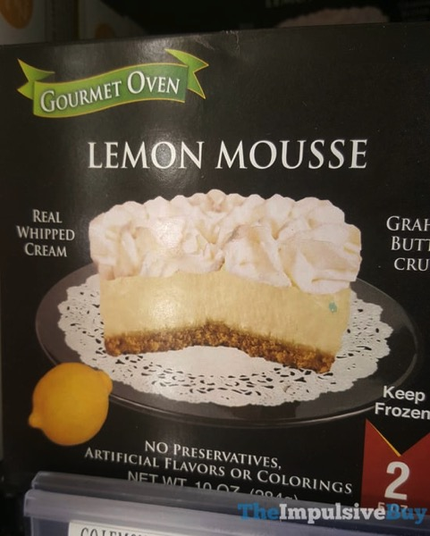 Gourmet Oven Lemon Mousse