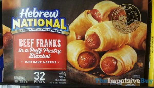 Hebrew National Beef Franks in a Puff Pastry Blanket