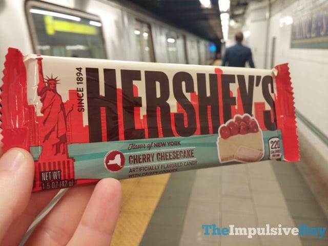 Hershey s Flavor of New York Cherry Cheesecake Bars 2