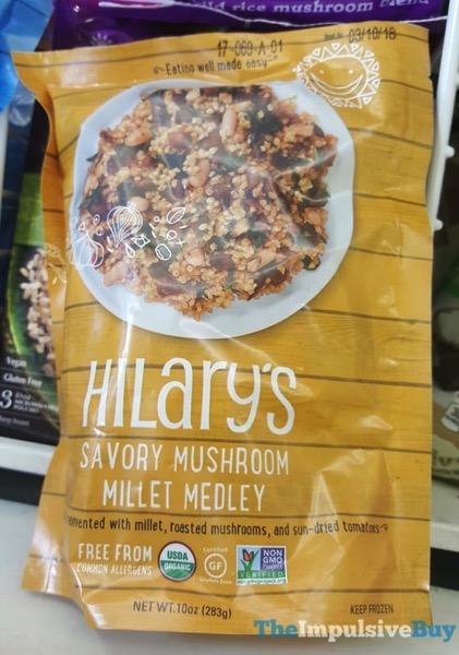 Hilary s Savory Mushroom Millet Medley