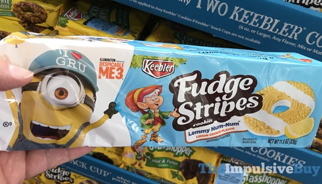 Keebler Lemmy Num Num Fudge Stripes Cookies