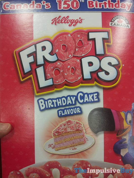 Kellogg s Birthday Cake Froot Loops Cereal
