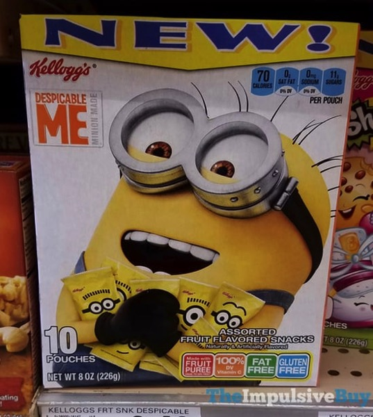 Kellogg s Despicable Me Fruit Flavored Snacks