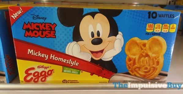 Kellogg s Eggo Disney Mickey Mouse Mickey Homestyle Waffles
