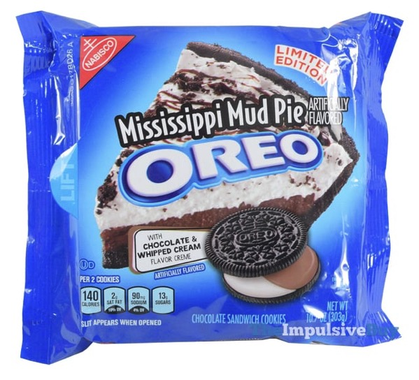 Limited Edition Mississippi Mud Pie Oreo Cookies