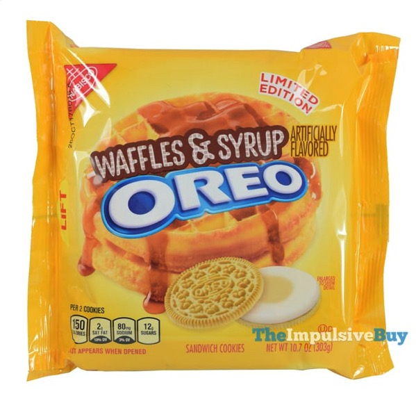 Limited Edition Waffles  Syrup Oreo Cookies
