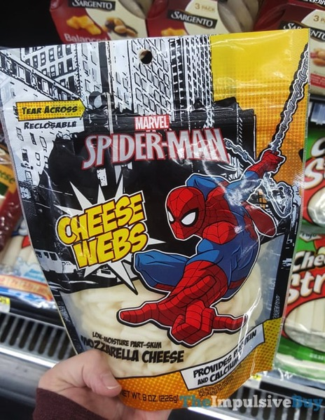 Marvel Spider Man Cheese Webs