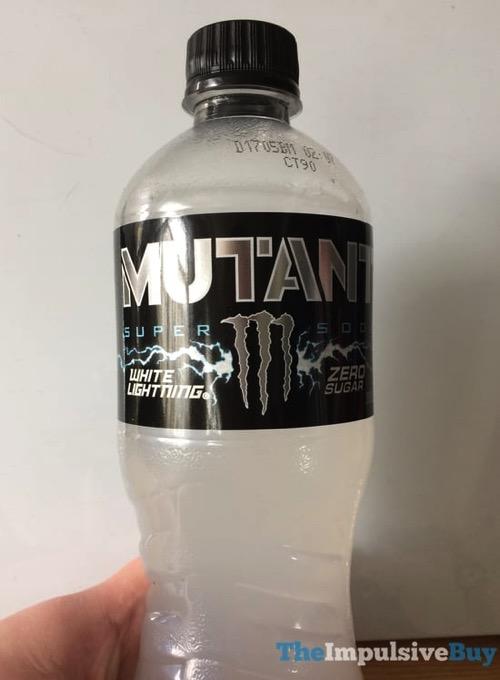 Monster Mutant White Lightning Super Soda
