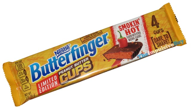 Nestle Butterfinger Limited Edition Smokin Hot Peanut Butter Cups