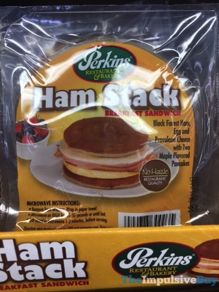 Perkins Ham Stack Breakfast Sandwich