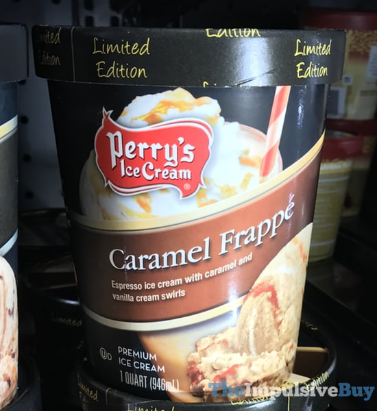 Perry s Limited Edition Caramel Frappe Ice Cream