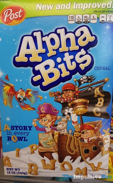 Post New and Improved Alpha Bits Cereal