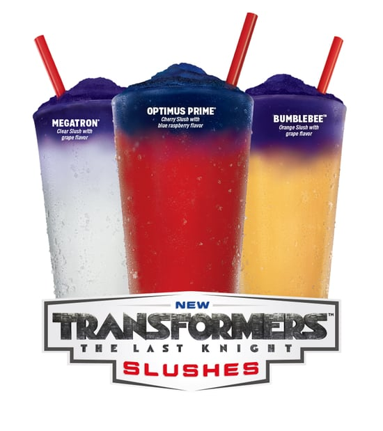 Sonic Transformers The Last Knight Slushes