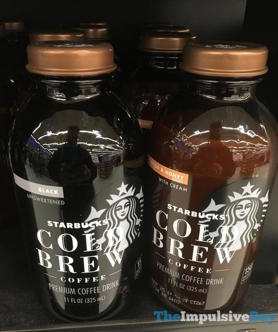 Starbucks Cold Brew Coffee  Black and Cocoa  Honey