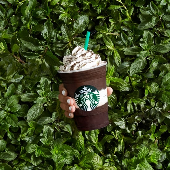 Starbucks Midnight Mint Mocha Frappuccino