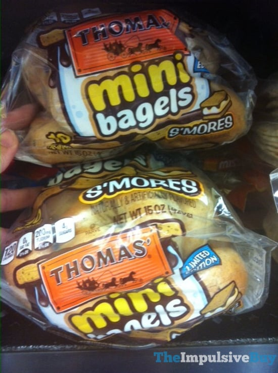 Thomas Limited Edition S mores Mini Bagels