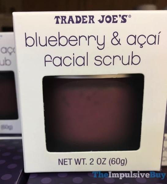 Trader Joe s Blueberry  Acai Facial Scrub