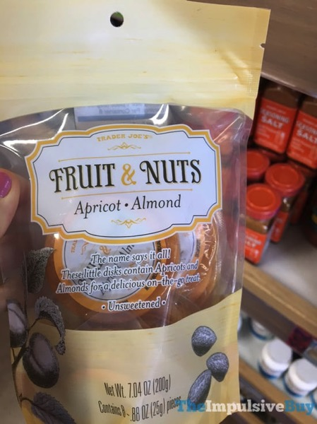 Trader Joe s Fruit  Nuts Apricot Almond