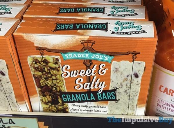 Trader Joe s Sweet  Salty Granola Bars
