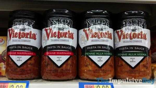 Victoria Trading Company Pasta in Sauce  Penne Marinara and Penne Alla Vodka
