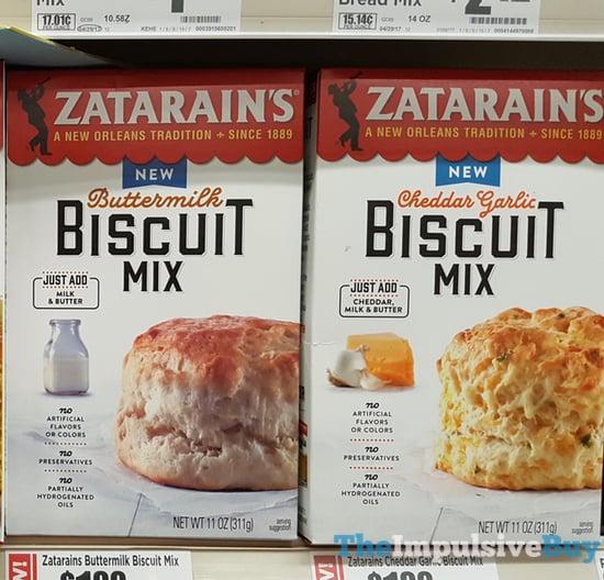 Zatarain s Biscuit Mixes  Buttermilk and Cheddar Garlic