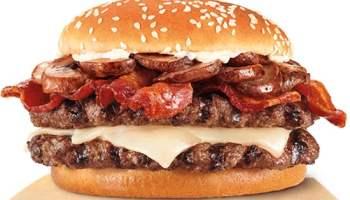FAST FOOD NEWS Burger King Mushroom Swiss