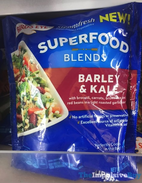 Birds Eye Steamfresh Superfood Blends Barley  Kale