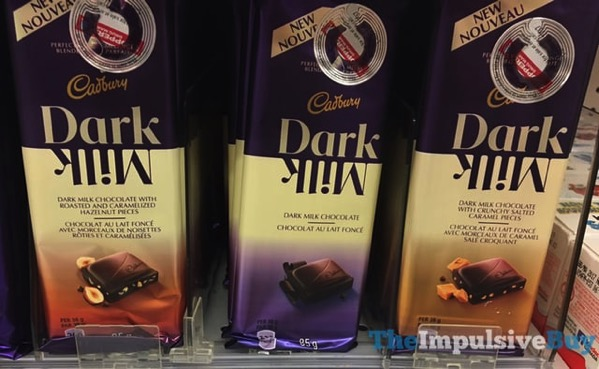 Cadbury Dark Milk Bars