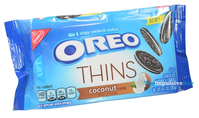 Coconut Oreo Thins