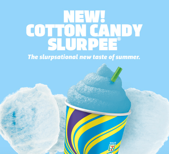 Cotton Candy Slurpee