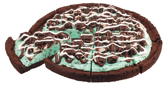 Free Sample of Baskin Robbins Mint Chocolate Chip Polar Pizza Today