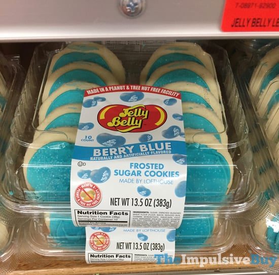 Jelly Belly Berry Blue Frosted Sugar Cookies