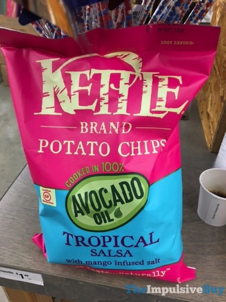 Kettle Brand Tropical Salsa Avocado Oil Potato Chips