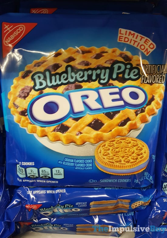 Limited Edition Blueberry Pie Oreo Cookies  2017