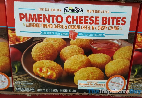 Limited Edition Farm Rich Southern Style Pimento Cheese Bites
