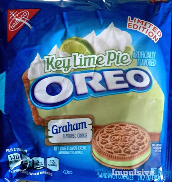 Limited Edition Key Lime Pie Oreo Cookies  2017
