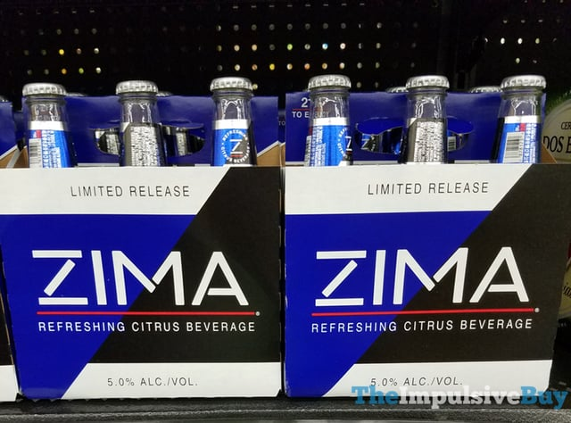 Limited Release Zima  2017