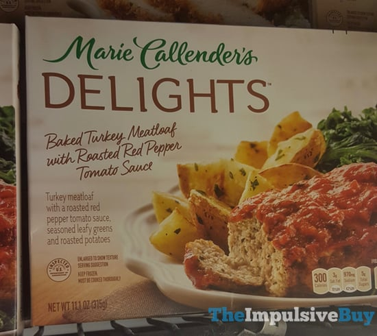 Marie Callender s Delights Baked Turkey Meatloaf with Roasted Red Pepper Tomato Sauce