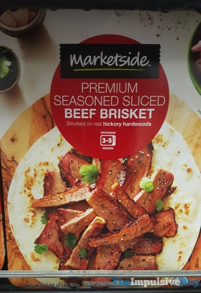 Marketside Premium Seasoned Sliced Beef Brisket