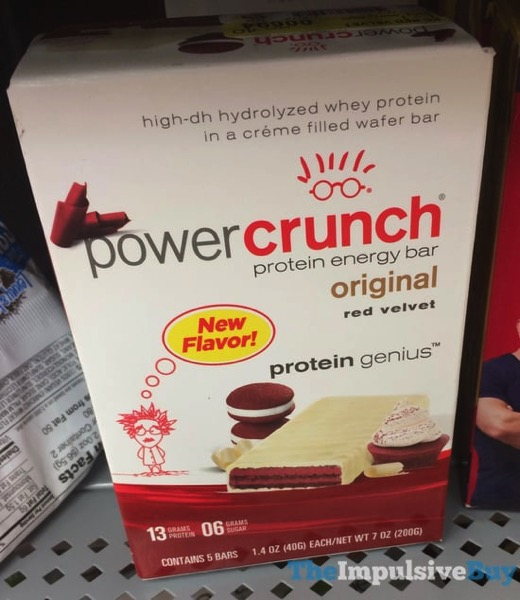 Power Crunch Red Velvet Protein Energy Bar