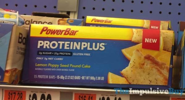PowerBar Protein Plus Lemon Poppy Seed Pound Cake Bar