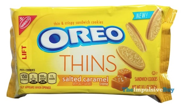 Salted Caramel Oreo Thins