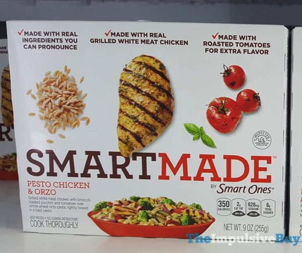 Smart Made Pesto Chicken  Orzo