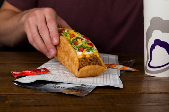 Taco Bell Double Chalupa